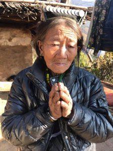 Mani per il Nepal preghiera