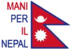 Logo Mani per il Nepal trasparente