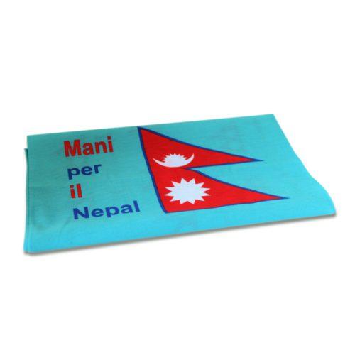 Bandana Mani per il Nepal azzurra