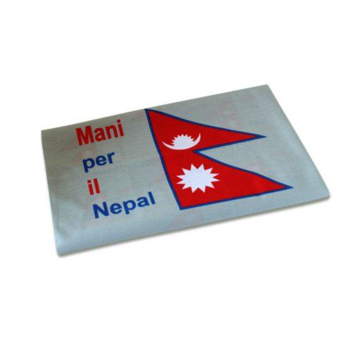 Bandana Mani per il Nepal Grigia