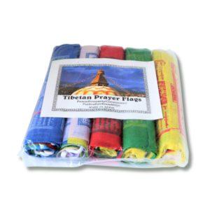 Bandiere Tibetane di Preghiera Mani per il Nepal