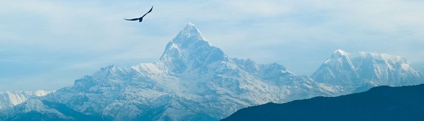 Mani per il Nepal Montagne nepalesi