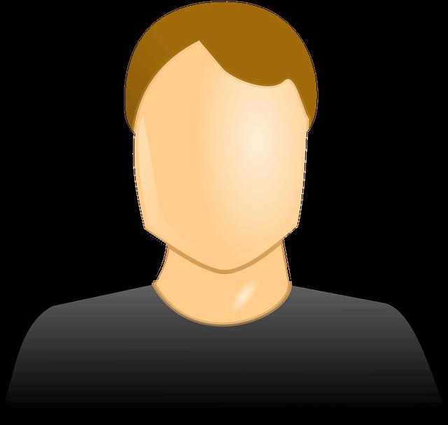 membro di comitato profilo uomo