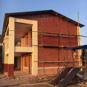 Ricostruzione scuola a Gagalphedi
