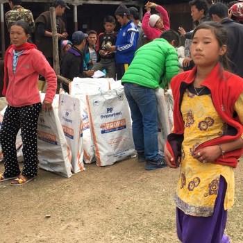 Materiale prima necessita Nepal