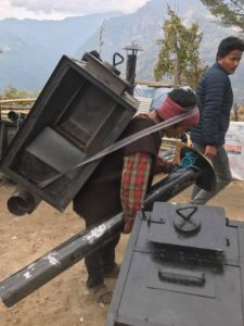Stufe Mani per il Nepal
